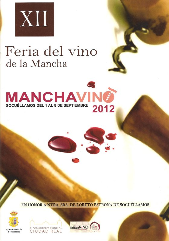 Cartel de Manchavino 2012.